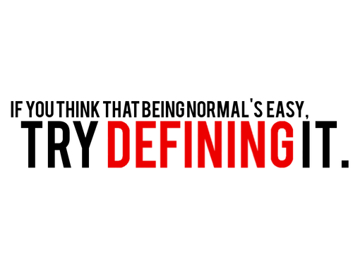 being-normal